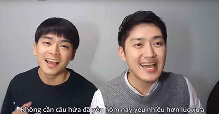 Hai chàng trai Hàn cover ''Điều Anh Biết'' cực đáng yêu