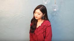 Hot girl người Hàn Jin Ju đốn tim Fan với bản cover ''Em gái mưa''  siêu ngọt ngào