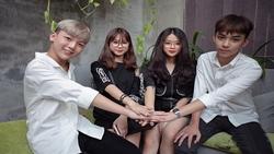 Dàn Hotten Linh Ka - Hoàng Kio - Chi Bé - Long Bi cover ''Chưa bao giờ mẹ kể''